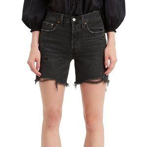 NWT Levi's 501 Mid Thigh Shorts